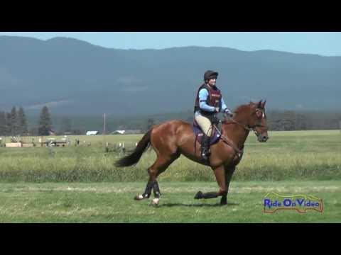 436XC Rebecca McClusky On Over The Top SR Open Novice Cross Country Rebecca Farm July 2016