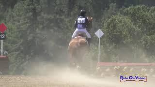 311XC Kirsten Freed on Oriana Open Beginner Novice Cross Country Woodside August 2019