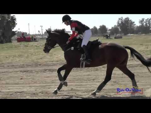 040XC Tommy Greengard On Charisma JR Training Cross Country FCHP April 2016