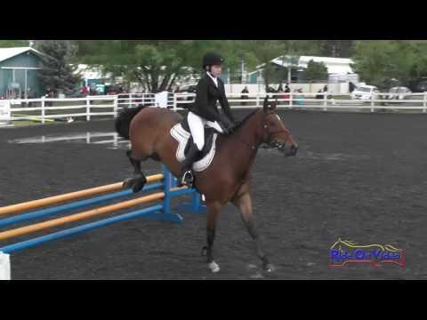 094S Olivia Miller JR/YR Beginner Novice Show Jumping Spokane Sport Horse HT May 2016