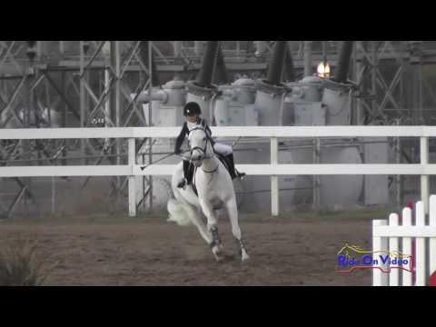 186S Maeve Callahan On Lady Viking Intro Show Jumping FCHP November 2016