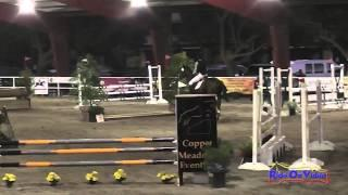 037E1 Daniela Dunne on Bodark Training Eventing Pacific Indoor Eventing October 2014