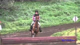 277XC Lauren Spence on Pik Me SR Novice Cross Country Twin Rivers Ranch Feb 2015