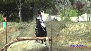 271XC Maggie Fearon On Tavien Verro Preliminary Rider Cross Country Galway Downs May 2015