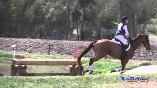 224XC Sadie Noblitt on Alexander JR Novice Cross Country Copper Meadows March 2015