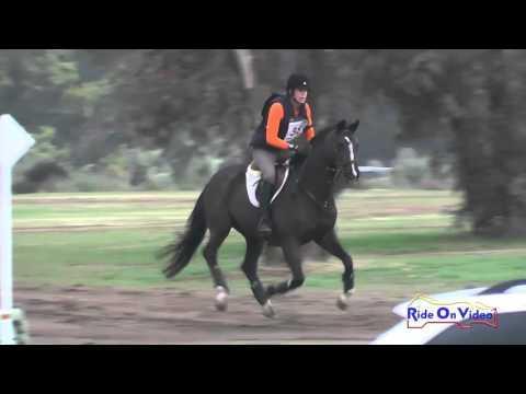 038XC Roberta Zajac On Absolute Faith SR Training Cross Country FCHP November 2015