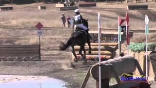 127XC Megan Traynham on Lord Lombardi JR Training Cross Country Woodside Int'l Event Oct 2014
