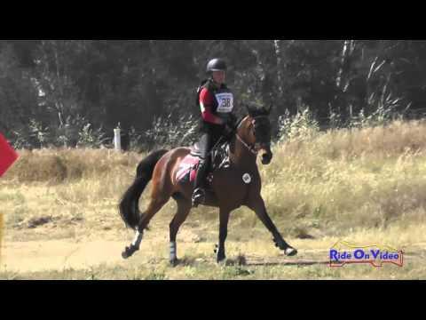 038XC Anika Baker On Little Britain JR Training Cross Country FCHP April 2016