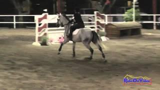 003E1 Stacia Lloyd on Mazzy Star Training Eventing Pacific Indoor Eventing October 2014