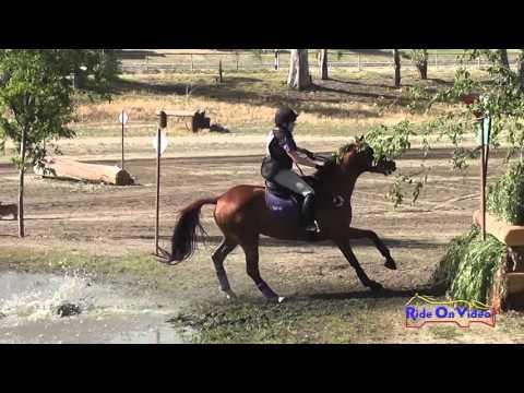 043XC Lindsey Weaver On Sintra Preliminary Rider Cross Country Galway Downs May 2014