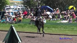 070S Jennifer McFall on High Times CIC3* Show Jumping The Event at Rebecca Farm July 2014