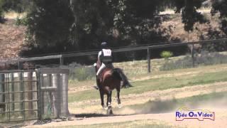 107XC Lisa Sabo On WTF Doria Open Training Cross Country Shepherd Ranch June 2015