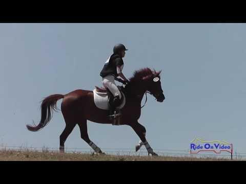 129XC Sydney Cort On Less Is More JR Beginner Novice Cross Country Shepherd Ranch June 2016