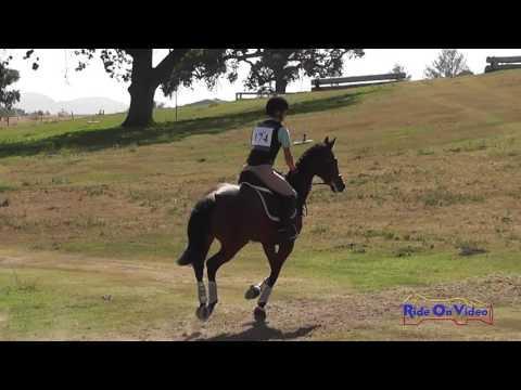 174XC Lorenzo Sampson On So Shine JR Intro Cross Country Shepherd Ranch June 2016