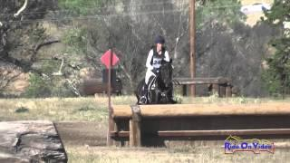 247XC Rebecca Braitling on Domina D'Revel Training Horse Cross Country Twin Rivers Ranch April 2015