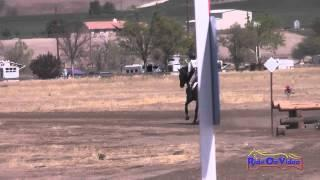 081XC Mia Farley on Just a Mystery JR Training Cross Country Twin Rivers Ranch Sept 2014