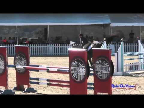 039S Julie Flettner On Ping Pong CIC1* Show Jumping Woodside Oct 2015