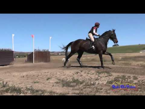 054XC Sabrina Glaser On Rembrandt Intermediate Cross Country Twin Rivers Ranch April 2016
