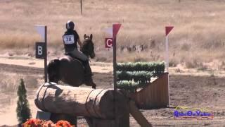 028XC Lauren Billys on Castle Larchfield Purdy CIC2* Cross Country Woodside Int'l Event Oct 2014