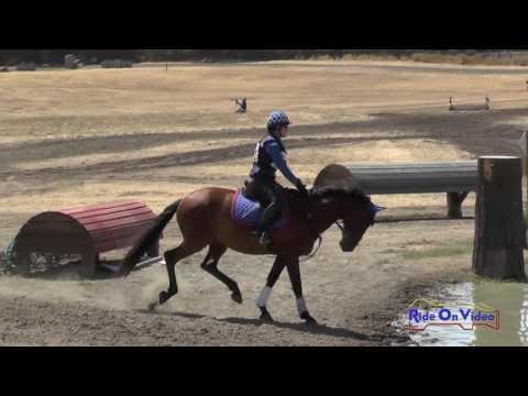 349XC Cindy Ramirez Smith On Dacio MSM Open Beginner Novice Cross Country Woodside August 2016