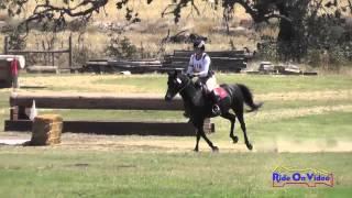 114XC Art Kann on Serafina LTF Senior Intro Cross Country Shepherd Ranch August 2014