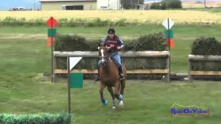 036XC Lisa Schultz On JayDee CCI1* Cross Country The Event At Rebecca Farm July 2015
