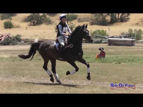025XC Madeleine Blinoff On Ranger JR Training Cross Country Shepherd Ranch June 2016