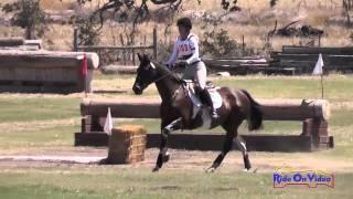 103XC Lisa Masten on Jitterbug Senior Intro Cross Country Shepherd Ranch August 2014