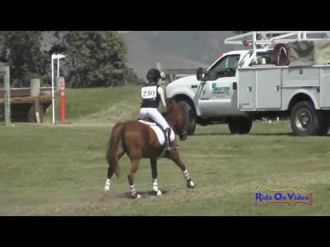 230XC Campbell Kadin On Hunky Dory JR Intro Cross Country Shepherd Ranch Aug. 2016