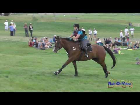 152XC Theresa Smrt On Landmark Open Preliminary Cross Country Rebecca Farm July 2016