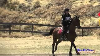 151XC Miranda Glisson on Star Jasmine JR Beginner Novice Cross Country FCHP April 2015