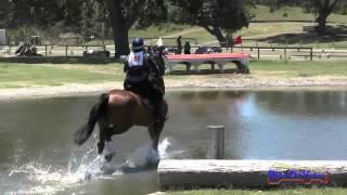 109XC Gina Economou On Exclusive Open Training Cross Country Shepherd Ranch June 2015