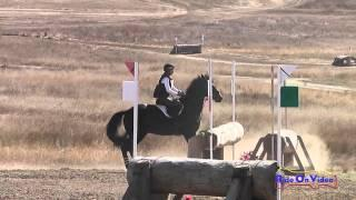 046XC Margaret Crow on Remington III CIC1* Cross Country Woodside Int'l Event Oct 2014
