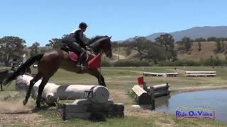140XC Cynthia Wright On Blaze SR Training Cross Country Shepherd Ranch June 2015