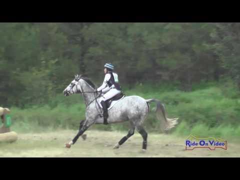 270XC Samantha Bergin On Loki SR Preliminary Cross Country Spokane Sport Horse HT May 2016
