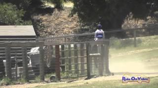 128XC Sadie Noblitt On Alexander JR Training Cross Country Shepherd Ranch June 2015