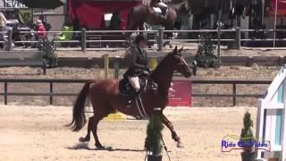 052S Katelynn Grubich on Kaptain Jak JR/YR Preliminary Show Jumping Woodside August 2014
