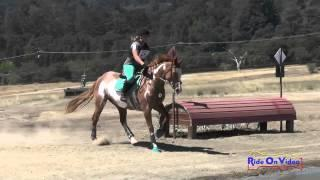 280XC Caroline Williams JR Beginner Novice Cross Country Woodside August 2015