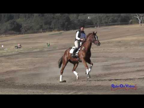 170XC Kendra Mitchell On Russian Roulette SR Training Cross Country Woodside October 2016