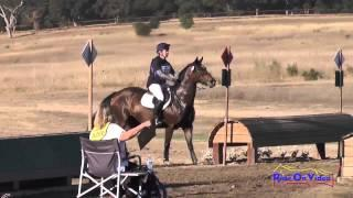 213XC Moraya Cleary on Kaos Reins Open Training Cross Country Woodside Int'l Event Oct 2014