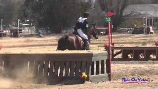 144XC Emma Dunn on Southern Comfort Preliminary Rider Cross Country Copper Meadows September 2014