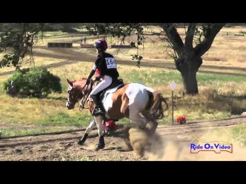 164XC Haley Kenney On Golden Splash JR Training Cross Country Twin Rivers Ranch April 2016