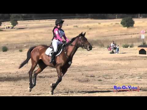 239XC Jazmin Holguin On Winter's Fable JR Novice Cross Country Woodside Oct 2015