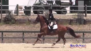 067S Tristen Hooks on Learning to Fly Preliminary Rider Show Jumping Woodside August 2014