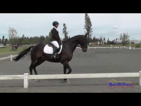 292D Kylan Maki On Synurator JR/YR Preliminary Dressage Spokane Sport Horse HT May 2016