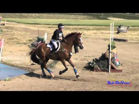 158XC Brianna Maroney On Herbie's Goal JR Training Cross Country Twin Rivers Ranch April 2016