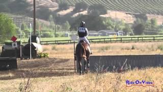 244XC Erin Kellerhouse on Rondelet Training Horse Cross Country Twin Rivers Ranch April 2015