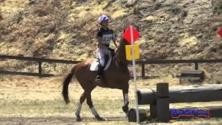 228XC Azure Siraco on Bold n Royal JR Beginner Novice Cross Country FCHP April 2015
