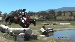 127XC Isabella Dowen On Whitaker JR Training Cross Country Shepherd Ranch June 2015