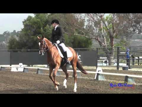 043D Lindsey Weaver On Sintra Preliminary Rider Dressage Galway Downs May 2014